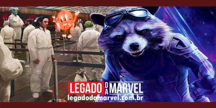 Diretora de Loki explica a imagem inédita de Rocket Raccoon legadodamarvel