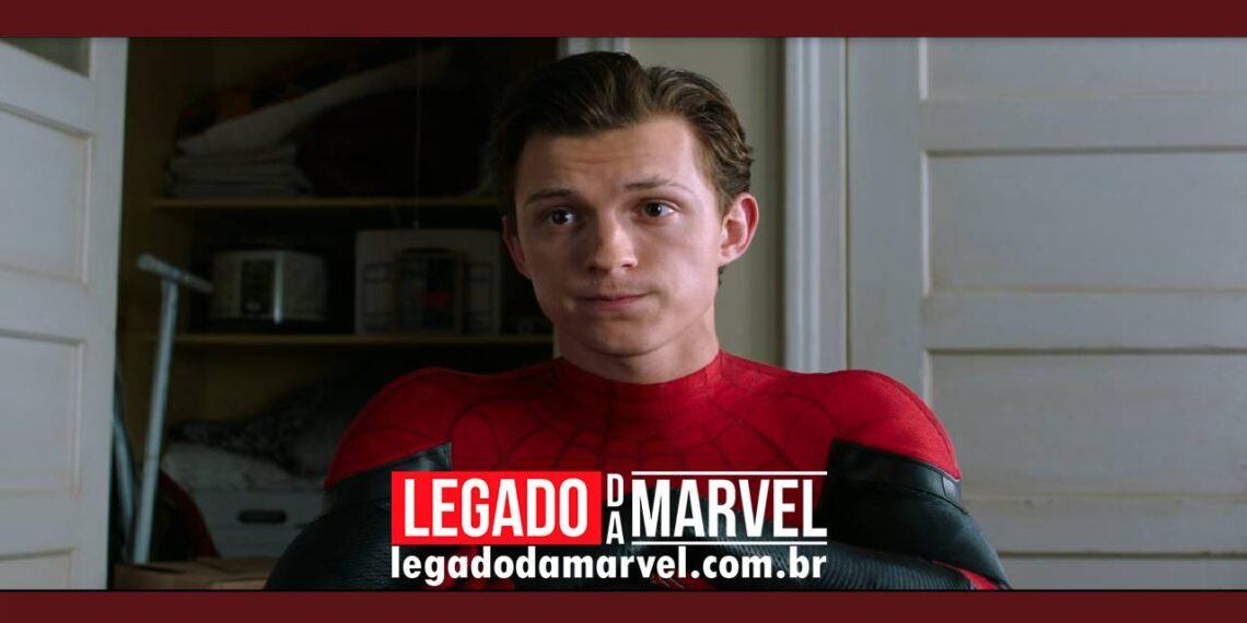 Homem-Aranha Sem Volta Para Casa: Vazamento revela mais detalhes do novo traje do Tom Holland legadodamarvel
