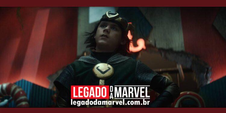 Ator de Kid Loki revela que seu personagem é o mais velho no Vazio legadodamarvel