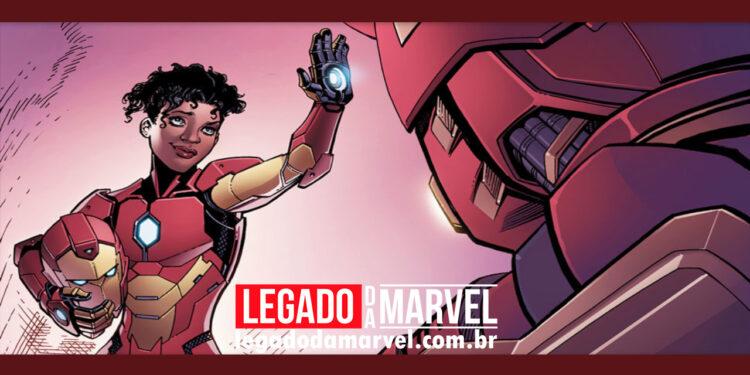 Iron Heart ganha título de produção - legadodamarvel