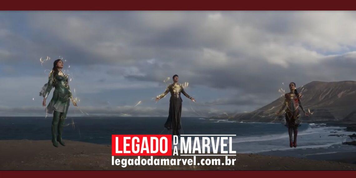 Confirmado quando teremos novo trailer de Eternos, novo filme da Marvel legadodamarvel