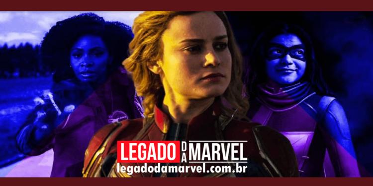 The Marvels: Vazamento revela escalação de um personagem misterioso legadodamarvel