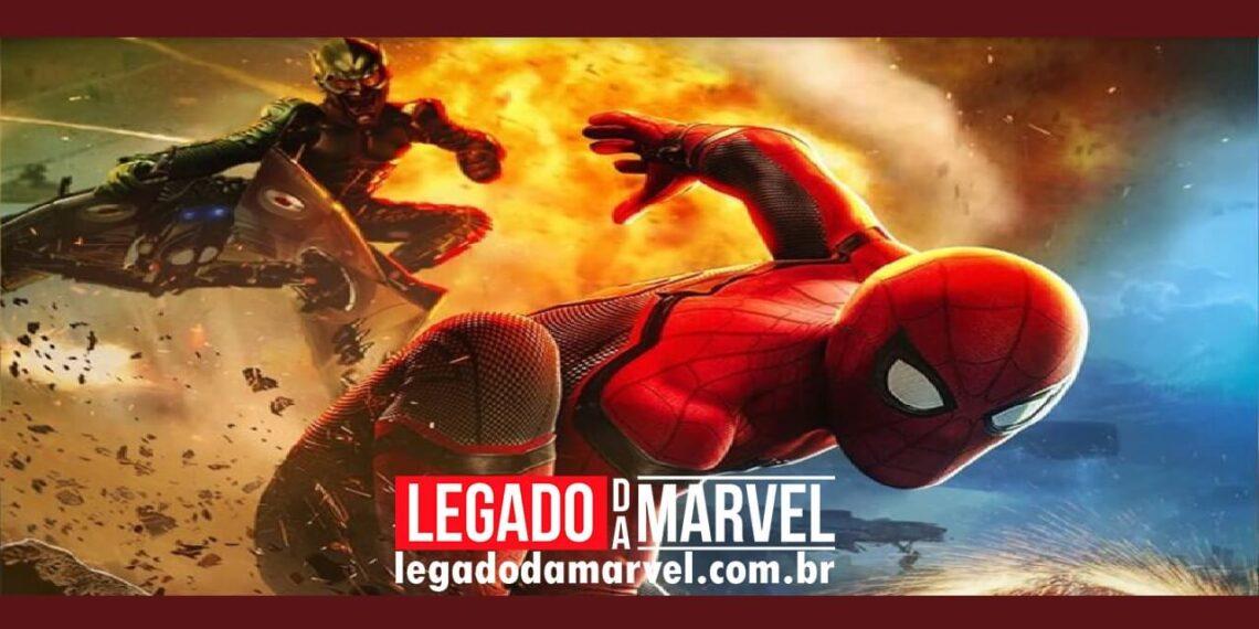Homem-Aranha 3: Pôster revela uma luta entre Peter vs Duende Verde e Dr Octopus legadodamarvel