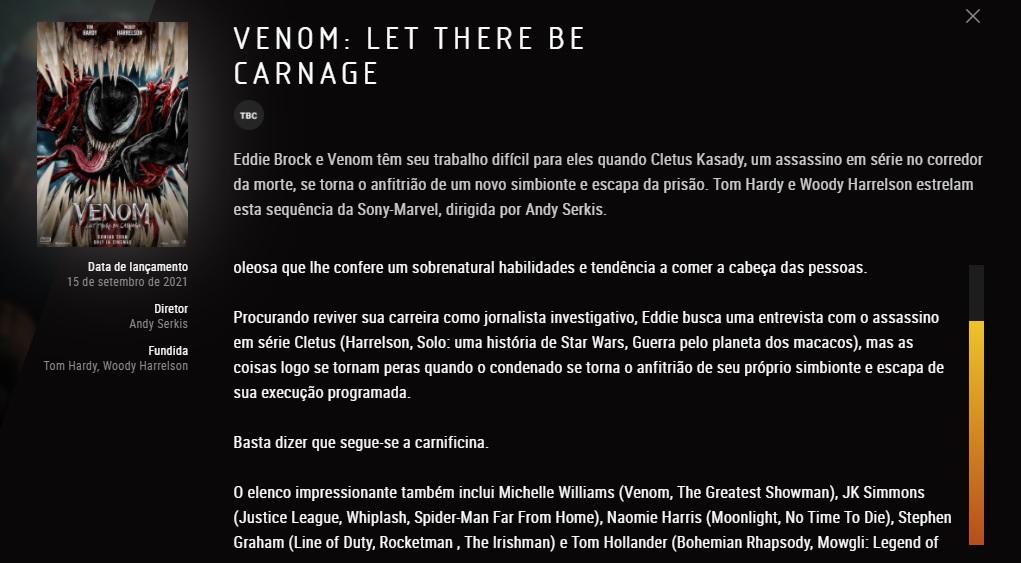 Rede de Cinema vaza o nome de JK Simmons em elenco de Venom 2