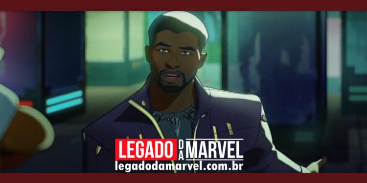 What If anuncia episódio com Chadwick Boseman - legadodamarvel