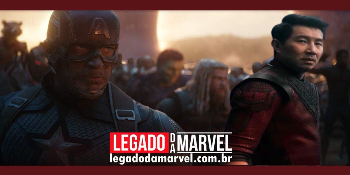 Onde estavam os Vingadores restantes durante os eventos de Shang-Chi legadodamarvel
