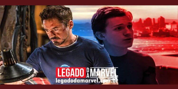 O maior ensinamento de Tony Stark para Peter veio de Homem de Ferro 3 legadodamarvel
