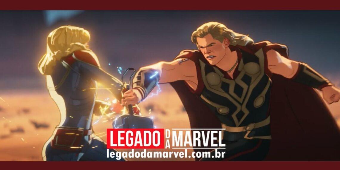 What If Capitã Marvel é mais forte que Mjolnir do Thor legadodamarvel